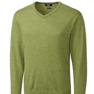 Cutter & Buck Men's Douglas V-Neck Washable Wool